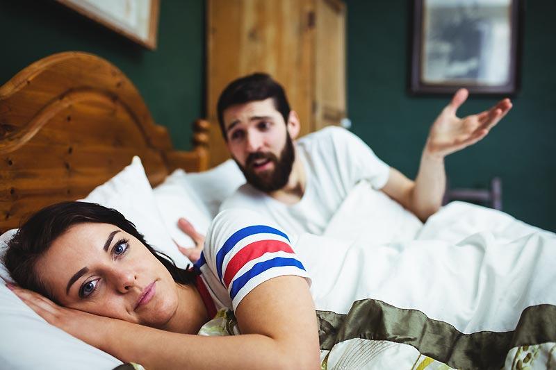 Le ronflement et votre relation de couple